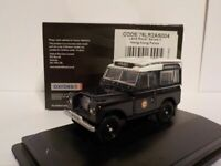 Land Rover series 2 - Police Hong Kong, Model Car, Oxford Diecast 1/76 New