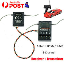 AR6210 DSM-X 6-Channel DSM2/DSMX Receiver+Satellit Transmitter
