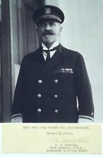 Vice Admiral Newton Alexander McCully Spanish-American, WW I Commander Autograph