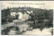 CP 87 Haute-Vienne - Environs de Saint-Junien - Village de Glane