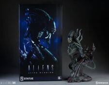 New Sideshow 1986 Aliens Alien Warrior Xenomorph H.R. Giger Statue MISB In Stock