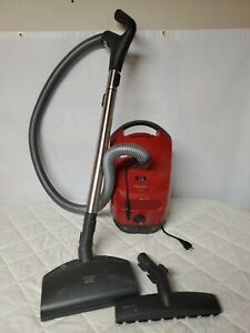 Miele Titan Canister Vacuum Model S2181 Tested & Working - Includes Floor Brush