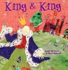 King and King by Stern Nijland and Linda de Haan (2003, Hardcover)