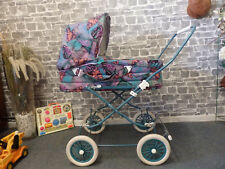 BUNTER HUND - unbenutzter Nostalgie Kinderwagen ~ vintage pram fürs Retro Baby