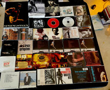 Huge Lot Of 22 BRUCE SPRINGSTEEN CDs, Books Born To Run, Singles, Hits, Various