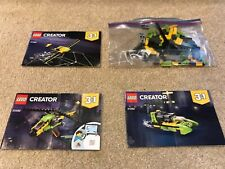 Lego Creator 31092 3 in 1 Helicopter Adventure - 100% with instructions, Vgc