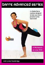 Ballet Barre EXERCISE DVDs - Barlates Body Blitz BARRE ADVANCED 4 workouts!