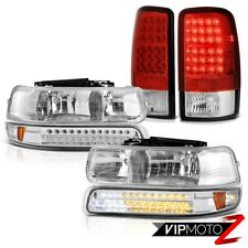 "00-06 Suburban Sterling Chrome LED Signal+Headlamps+""High Power"" LED Taillights"