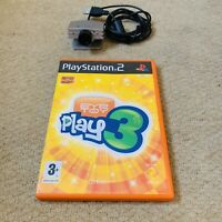 EyeToy Camera and EyeToy Play 3 game Sony PlayStation 2