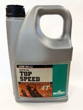 MOTOREX 4T TOP SPEED 15/50 OIL 4LITRE