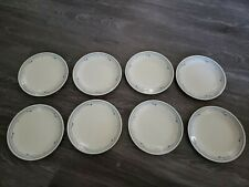 Corelle County Violets Dinner Plates set of 8 8 1/2 Good Condition microwavable
