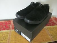 Ugg Australia Hanz Slippers Suede Black Ankle Shoes Classic Men's New