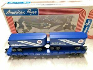 American Flyer by LTI #48502 Wabash Flatcar!! L@@K