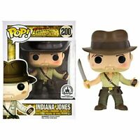 RARE Indiana Jones #200 Funko POP Vinyl NEW in Mint Box + Protector