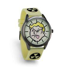 Fallout 3 4 Vault Boy Radglow Radiation Glow In The Dark Wrist Watch Bethesda