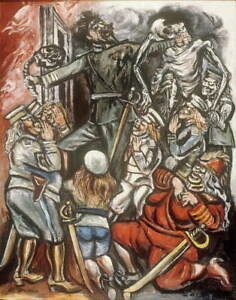 Jose Clemente Orozco The Demagogue Giclee Art Paper Print Poster Reproduction