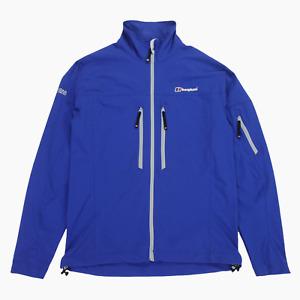 Berghaus Extrem Mens Blue Lightweight Multi Pocket Full Zip Outdoor Jacket M