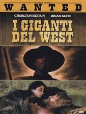 I GIGANTI DEL WEST  DVD WESTERN