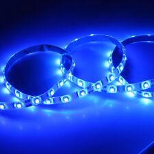Flexband LED Strip Band blau Set 2x 50 cm / 100 cm mit Netzstecker selbstklebend
