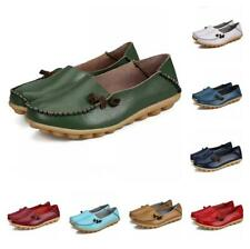 New Womens Casual Shoes Loafers Driving Peas Walking Moccasin Flat 35/44 Pumps B