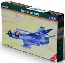 MiG 21 MA/MF 'PIN UP GIRL' (CZECH, SLOVAK & POLISH AF MARKINGS) 1/72 MISTERCRAFT