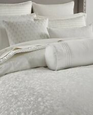 Hotel Collection Plume King Duvet Cover Ivory/White NWT