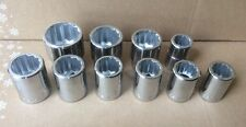"""10 piece Wright Made in USA 3/4"""" drive SAE socket set"""