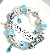 Authentic Pandora Bracelet 925 Silver Disney Theme Frozen Elsa European Charms