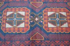 3'2 x 6'4 Genuine Handmade Hand Knotted Oriental Wool Area Rug Mat Carpet 3 x 7