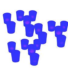 18 pieces Blue Votive Tea Light Led Flameless Wedding Party Table Decoration