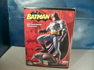 Batman Jim Lee hand painted Cold Cast Porcelain statue 5626 of 6000 $195 MSRP
