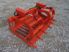 """Kubota Compact Tractor Attachment - 66"""" Rock Bucket Tooth Grapple - Ship $149"""