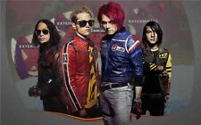 """My Chemical Romance - American Rock Band Music Star 40x24"""" Poster M09"""