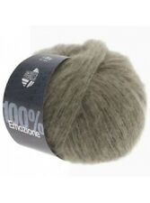 23,20 €/ 100g Lana Grossa Emozione 25g Fine Fine Yarn Colour 04 Taupe