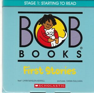 Bob Books: First Stories Starting to Read - 12 Easy to Read Books Home Learning