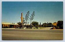 Vintage Postcard Apache Motel Mesa AZ 1967 a6