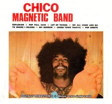 "Chico Magnetic Band:  ""S/T""  + 4 bonus  rare single tracks  (Digipak-CD)"