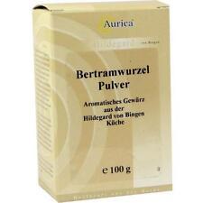 BERTRAMWURZELPULVER Aurica 100g PZN 4775318