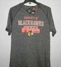 NHL Chicago Blackhawks Ultimate Short Sleeve Shirt New Mens Sizes $30