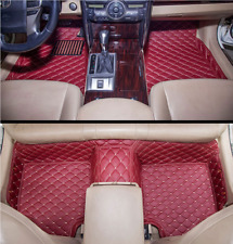 For Acura ZDX 2010~2013 leather Car Floor Mats Waterproof Mat