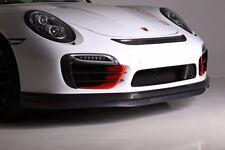Porsche 991 Turbo S Front Bumper Carbon Fiber Lower Valance Spoiler (2014-2016)