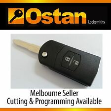 Complete Key & Remote to suit Mazda 2 2007-2009 (Aftermarket)