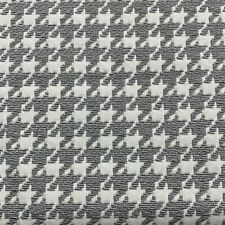 DESIGNTEX TEXTURED HOUNDSTOOTH UPHOLSTERY FABRIC HOLMES PEWTER BY THE YARD