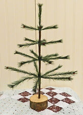 NEW MINI GREEN FAUX GERMAN FEATHER TREE W/BERRIES CHRISTMAS! LIMITED QUANTITIES
