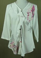 BiBA 3/4 Arm Damenblusen, - tops & -shirts aus Viskose