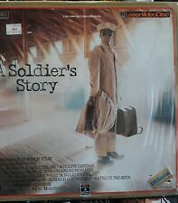 A Soldier's Story laser disc in shrink
