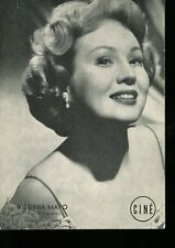 CINEMA PHOTOGRAPHIE ORIGINALE Virginia MAYO ACTRICE AMERICAINE
