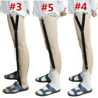 Men Male Shirt Stays Holder Garters Suspenders Military Uniform Non-slip Locking