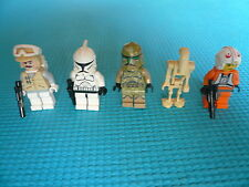 5 minifigurines LEGO star wars - lot n°8- TBE