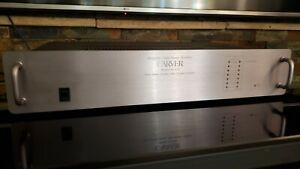 Carver M-4.0t Power Amplifier (SN:00675) New Capacitors - Flawless (375 w/ch)